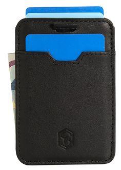 SLIMPURO Kreditkartenetui aus echtem Leder - RFID NFC Schutz - Kleiner Geldbeutel und Kreditkartenhülle - Kompaktes Portemonnaie mit Geldklammer - Mini Portmonee, slim-wallet EUR 15,90 Card Holder, Wallet, Cards, Small Purses, Leather, Pocket Wallet, Map, Playing Cards, Purses