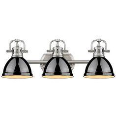 "(8.5""Hx24.5""Wx8.25""Ext 300w 270 Classic Dome Shade Bath Light - 3 Light"
