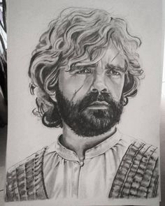 """51 Likes, 4 Comments - Art & Drawing by Marina Mačar (@_marinamachar_art_) on Instagram: """"Just a little more:) GOT-Tyrion """"I drink and I know things"""" #tyrionlannister #tyrion_lannister…"""""""