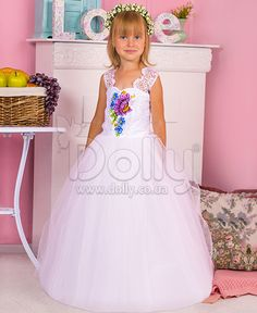 Платье Ангелина белое
