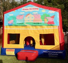 We offer free delivery within a radius of Cooroy & provide quality jumping castles to Gympie Council and Sunshine Coast Council residents. Party Hire, Obstacle Course, Basketball Hoop, Sunshine Coast, Peppa Pig, Sun Protection, Castles, Toy Chest, Storage Chest