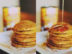 yummm Pumpkin Spice Protein Pancakes