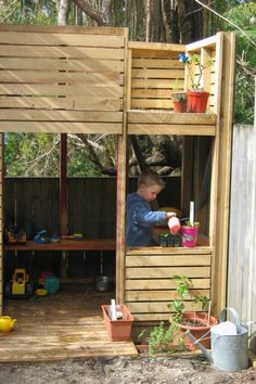 great cubby house