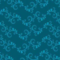 Flourish - Blue Mural - Simon & Kabuki| Murals Your Way