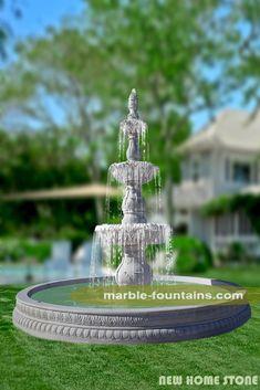 Mermaid Fountain Garden Statue | Fountains | Pinterest | Fountain Garden, Garden  Statues And Fountain