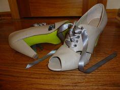 DIY: painted shoe soles