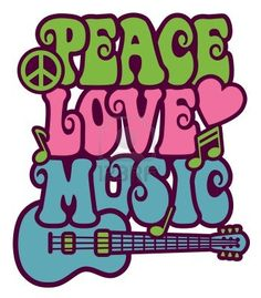 Peace,love and music