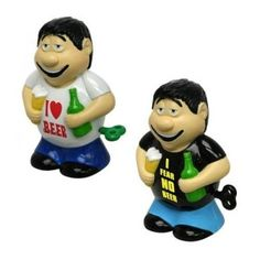 Retro Gadgets Wind Up Drunkards A set of two wind up drunkards perfect for any desktop, or in fact pub table top!