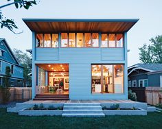 Love this house. Featured in Dwell Magazine.