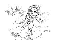 Snow Angel by JadeDragonne.deviantart.com