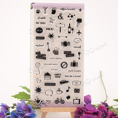 NCraft Clear Stamps N2179 Scrapbook Paper Craft Clear stamp scrapbooking icon