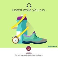 Thousands of free audiobooks to take on your next work out.