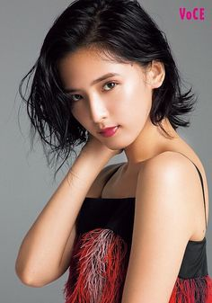 Japanese Girl Group, How To Look Pretty, Dreadlocks, Kawaii, Hair Styles, Beauty Girls, People, Beautiful, Flower