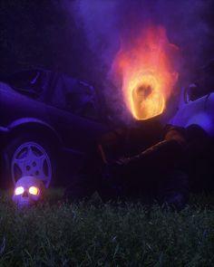 Ablaze. [OC]