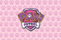 PRINTED Paw Patrol Girl Birthday Party Backdrop by paperstudioeu                                                                                                                                                                                 Mais