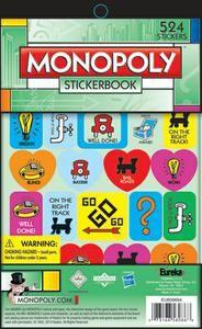 "20 Monopoly Stickers Party Favors 2.5/""x2.5/"" ea."