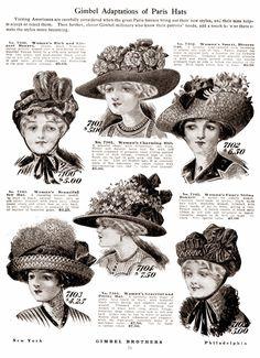 Crinolines et Cie - Costumes et sorties historiques: Belle Epoque - 1910