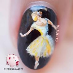 Apparently if you want to be a ballerina, you have to lose a leg. But all kidding aside, I painted some nail art so now look at it. Ballet Nails, Ballerina Nails, Mary Janes, Nail Polish, Nail Art, Pretty, Macro Shots, Nudes, Instagram