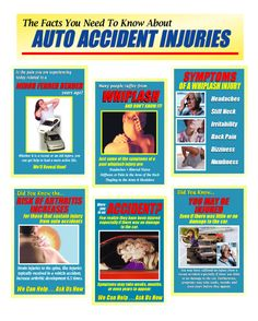 Automobile Accident Marketing Products Physical Therapy Shoulder, Whiplash Injury, Car Accident Injuries, Marketing Products, Emergency Medicine, Injury Prevention, Chiropractic, Back Pain, Fun Stuff