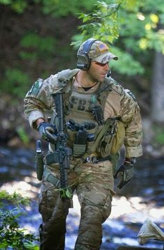 Is a flexible,homy,big,new,american and green uniform fbi
