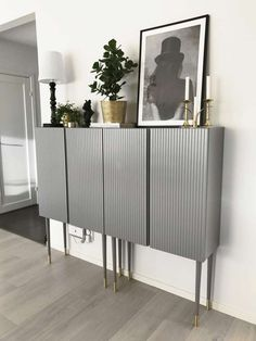 IKEA hack: Inspiration to redo the Ivar cabinet from IKE .- IKEA-hack: Inspiration till att göra om skåpet Ivar från IKEA The wooden Ivar storage cabinet from IKEA can be changed in many ways. Here are five fantastic makeovers to be inspired by! Ikea Furniture Hacks, Ikea Hacks, Furniture Ideas, Ivar Ikea Hack, Cheap Furniture, Ikea Sideboard Hack, Ikea Ivar Cabinet, Furniture Buyers, Furniture Nyc