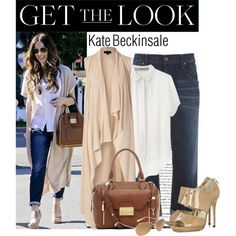 """""""Get the look Kate Beckinsale"""" by stacy-gustin on Polyvore ( I am really loving these duster sweaters!!!!!!!!)"""