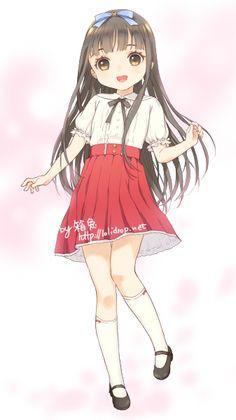 I love this anime L Anime, Manga Anime Girl, Anime Child, Anime Dolls, Anime Girl Cute, Kawaii Anime Girl, Loli Kawaii, Kawaii Chibi, Kawaii Art