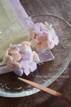 Japanese sweets / 紫陽花