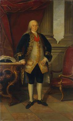 """Dom Pedro III (Lisboa, 5 de julho de 1717 – Queluz, 25 de maio de 1786), apelidado de """"o Capacidónio"""", """"o Sacristão"""" e """"o Edificador"""", reinou de 1777 até sua morte em 1786 em direito de sua esposa a rainha Maria I. Era filho do rei João V e sua esposa a arquiduquesa Maria Ana da Áustria, sendo assim irmão mais novo do rei José I e tio de sua esposa Maria I."""