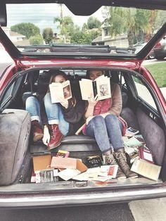 mobile book nook
