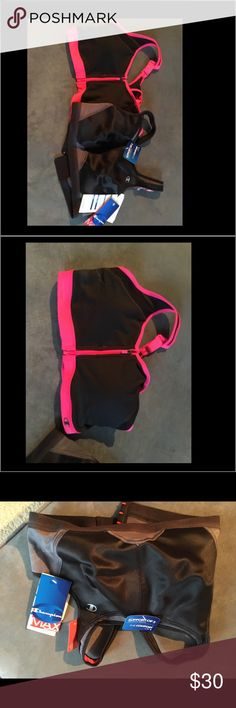 Sport bras - two Brand new never worn. One has tags the other has been removed. 34 D but runs small. Champion Other