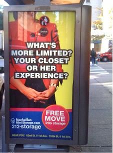 Ironically, your closet is likely the opposite of her closet.