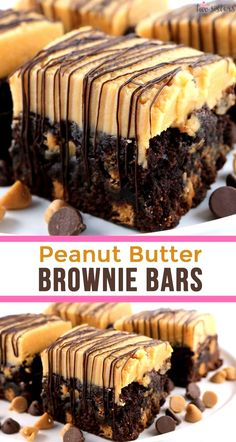 Brownie Desserts, Brownie Ideas, Classic Desserts, Great Desserts, Easy Delicious Desserts, Delicious Food, Delicious Chocolate, Dessert Ideas For Party, Easy Desserts To Make