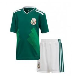 d64e4d403 2018 World Cup Youth Kit Mexico Home Replica Green Suit 2018 World Cup  Youth Kit Mexico Home Replica Green Suit