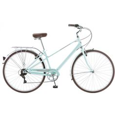Someone guessed 44 pounds 700c Schwinn Admiral Women's Hybrid Bike, Mint Green - Walmart.com