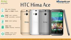 HTC Hima Ace Plus specifications – Infographics