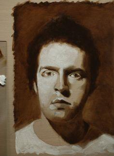 Part 2 of Will Kemp's Portrait Tutorial in Oil Paint