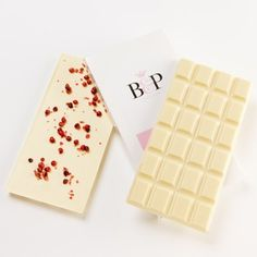 Pink Peppercorn White Chocolate 100g