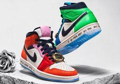 """Nike Air Jordan 1 Mid """"Bred"""" Men's Shoes 554724 054"""
