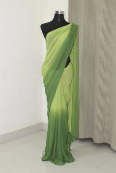 Georgette saree – Page 3 – Akrithi Pure Georgette Sarees, Satin Saree, Shibori Sarees, Sari, Silk Sarees Online Shopping, Indian Gowns Dresses, Saree Trends, Stylish Sarees, Casual Saree