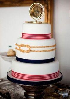 A nautical themed cake