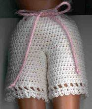 Barbie's Bloomers Pattern Free | Free Crochet Patterns & Free Knitting Patterns Doily Towel Edge Patterns crochê lace