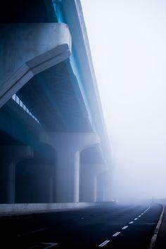 banshy:  In the mist by Shuji Horikiri