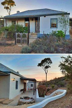 Aan die voet van die Touwsberg, aan die oewer van die Touwsrivier, lê Wolverfontein Karoo Cottages. Hierdie plaas naby aan Roete 62 is in 1890 gestig. Dié volstruispaleis is tydens die piek van die volstruisveerbedryf gebou.
