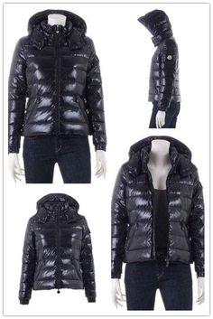 Moncler Aubert Euramerican Style Jacket Men Zip Hooded Black Sale ... 7fb8cdfe58ba0