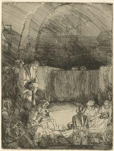 The Entombment Rembrandtc. 1654