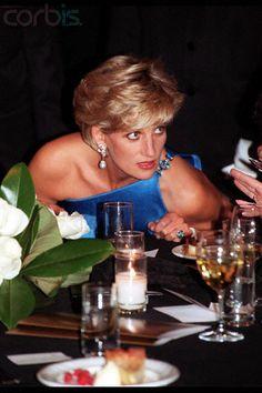 October 31, 1996: Diana, Princess of Wales at a Victor Chang Cardiac Research Reception