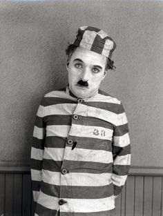 Still of Charles Chaplin in The Pilgrim