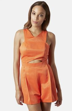 Topshop+Cutout+Romper+available+at+#Nordstrom