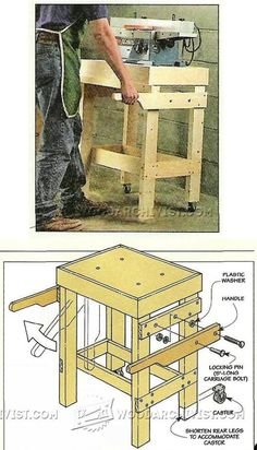 WoodArchivist is a Woodworking resource site which focuses on Woodworking Projects, Plans, Tips, Jigs, Tools Woodworking Workshop, Woodworking Shop, Woodworking Projects, Workshop Cabinets, Tool Stand, Shop Organization, Homemade Tools, Table Plans, Wood Projects
